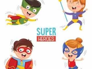 超级英雄的传染媒介例证