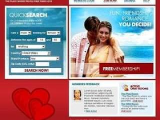 情侣网站模板PSD
