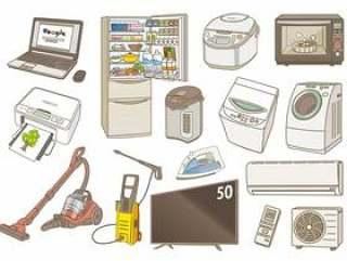 各种各样的家用电器