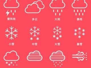 天气 图标