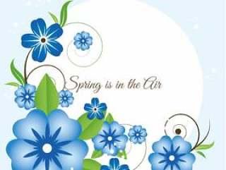 春天的节日矢量图