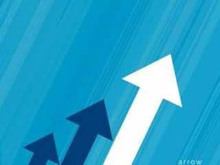 业务增长概念的箭头设计