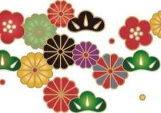 花纹的日本模式