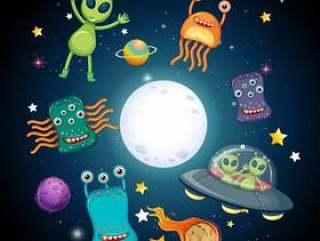 空间和外星人