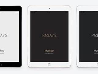 iPad Air 2 – PSD mockups