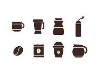 咖啡机设置图标