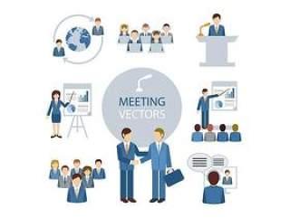 8款会议人物设计