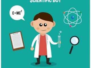 科学博览会男孩