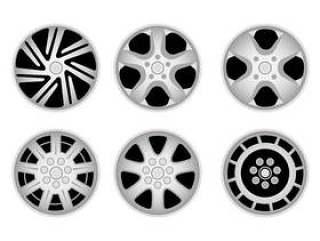 六种类型的轮毂罩