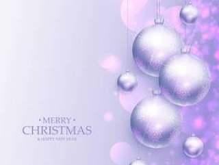 惊人的圣诞快乐圣诞问候与现实圣诞节背景
