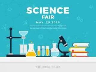 科学博览会海报横幅