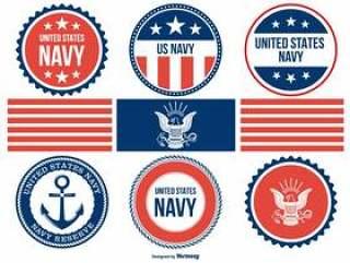 什锦海军徽章收藏