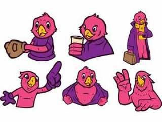 鹦鹉吉祥人传染媒介