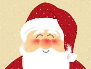 圣诞老人背景