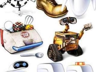 机器人总动员图标(png,ico,icns)