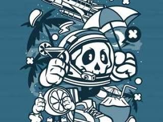宇航员假日