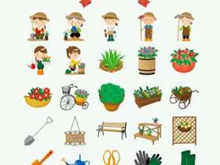 园艺的插图
