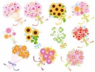 各种鲜花花束2
