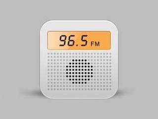 收音机UI设计临摹
