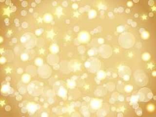 景灯和星星的圣诞节背景