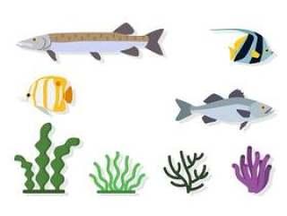 平坦的海洋环境载体