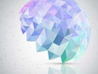 低聚抽象的大脑背景