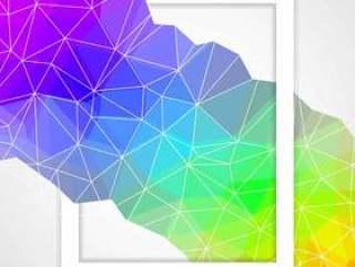 抽象三角形背景