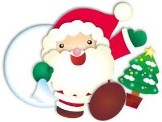 圣诞老人和树