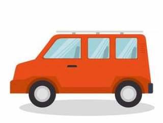 车辆旅行孤立的图标矢量插图设计