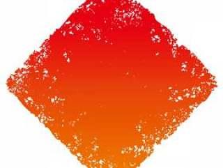 邮票角度_红色渐变_ cs