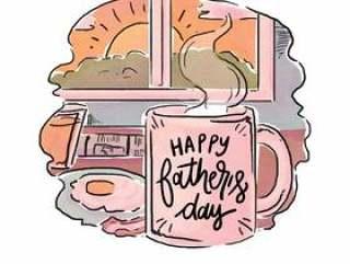 可爱的父亲&日的早餐与报价