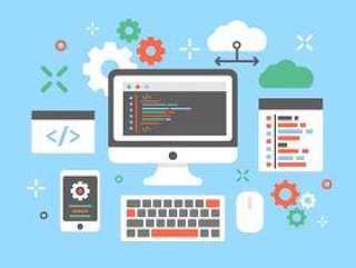 软件工程师概念设计传染媒介