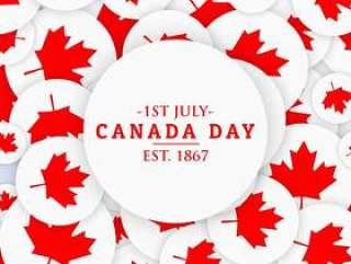 7月1日加拿大日背景