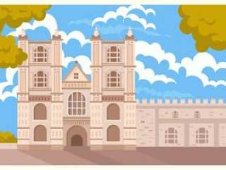威斯敏斯特修道院景观