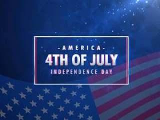 7月4日美国独立日背景