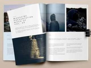Psd Magazine Mockup View Vol5