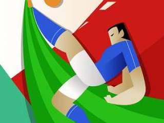 意大利世界杯足球运动员