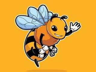 蜂昆虫吉祥人