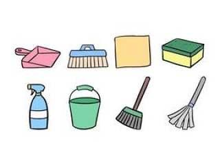 清洁图标集