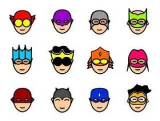 超级英雄面具