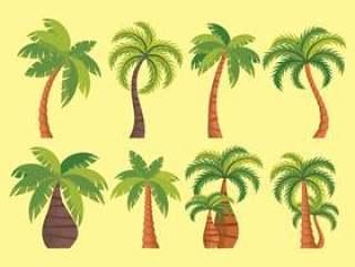 棕榈树矢量图标