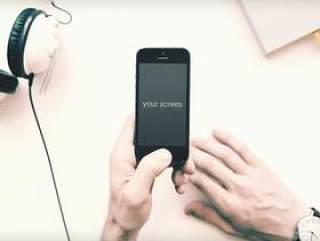 IPHONE PSD智能模板