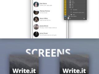 Write.it -  博客应用程序UI工具包