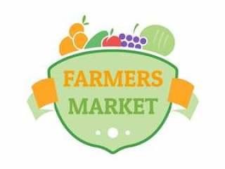 农民市场平徽章标志模板
