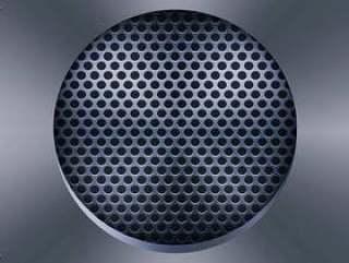 扬声器烧烤矢量图
