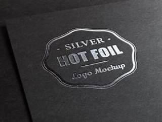 LOGO应用PSD智能模板 烫银