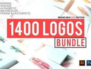 1400款LOGO设计合集矢量素材下载(含AI和PSD源文件)