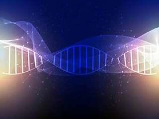 抽象的DNA背景