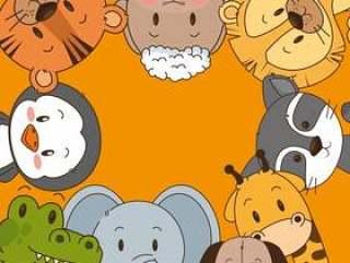 小而可爱的动物组