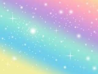 彩虹柔和的背景